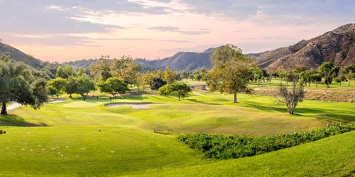 Singing Hills Golf Resort California golf packages